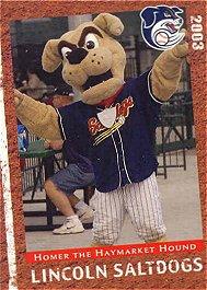 Homer the Haymarket Hound card