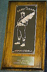 1999 Casey Award given to Neal Karlen for 'Slouching Toward Fargo'